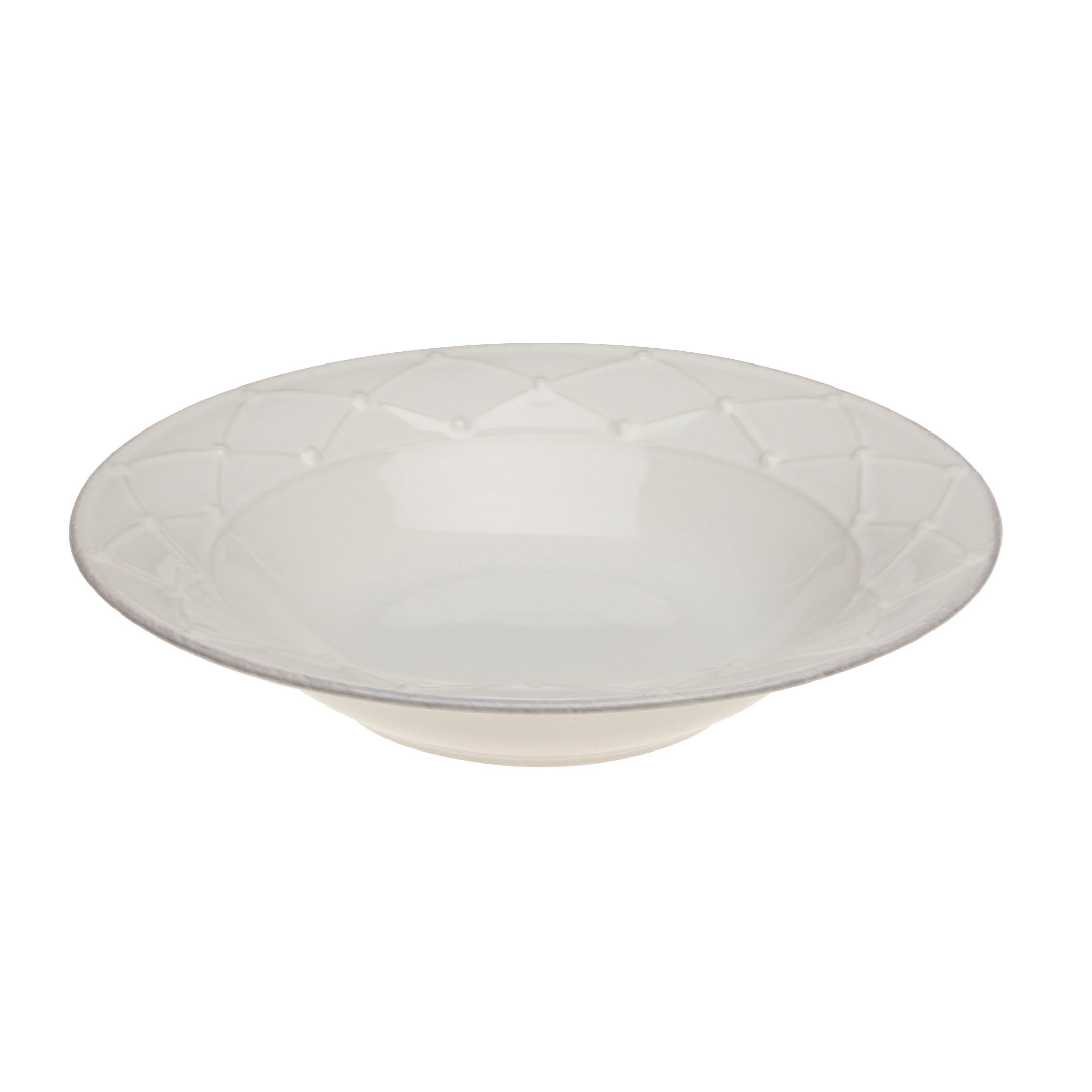 Meridian Soup/pasta Plate White 23.1cm Sparkle Gift