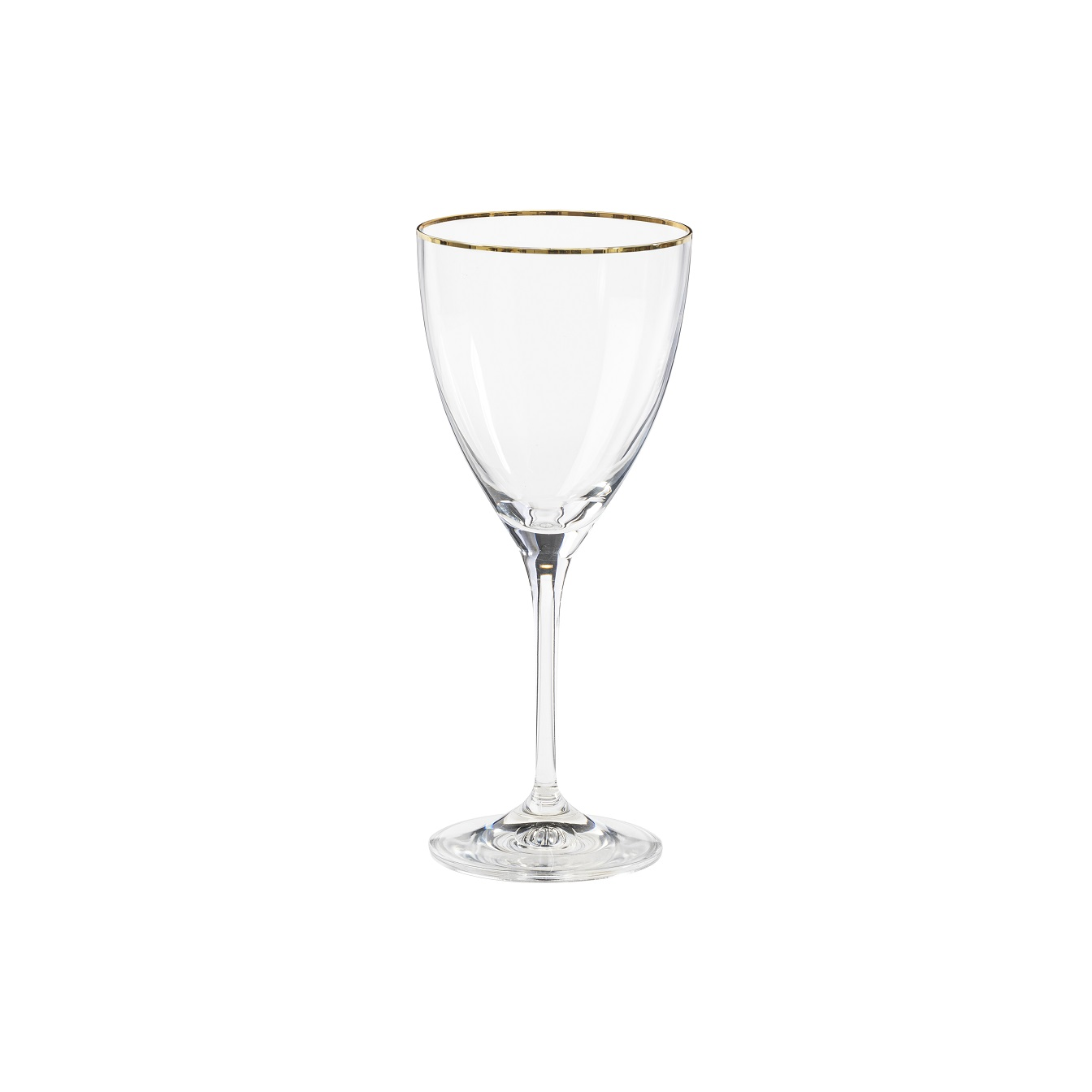 Sensa Wine Glass 250ml Golden Rim Sparkle Gift