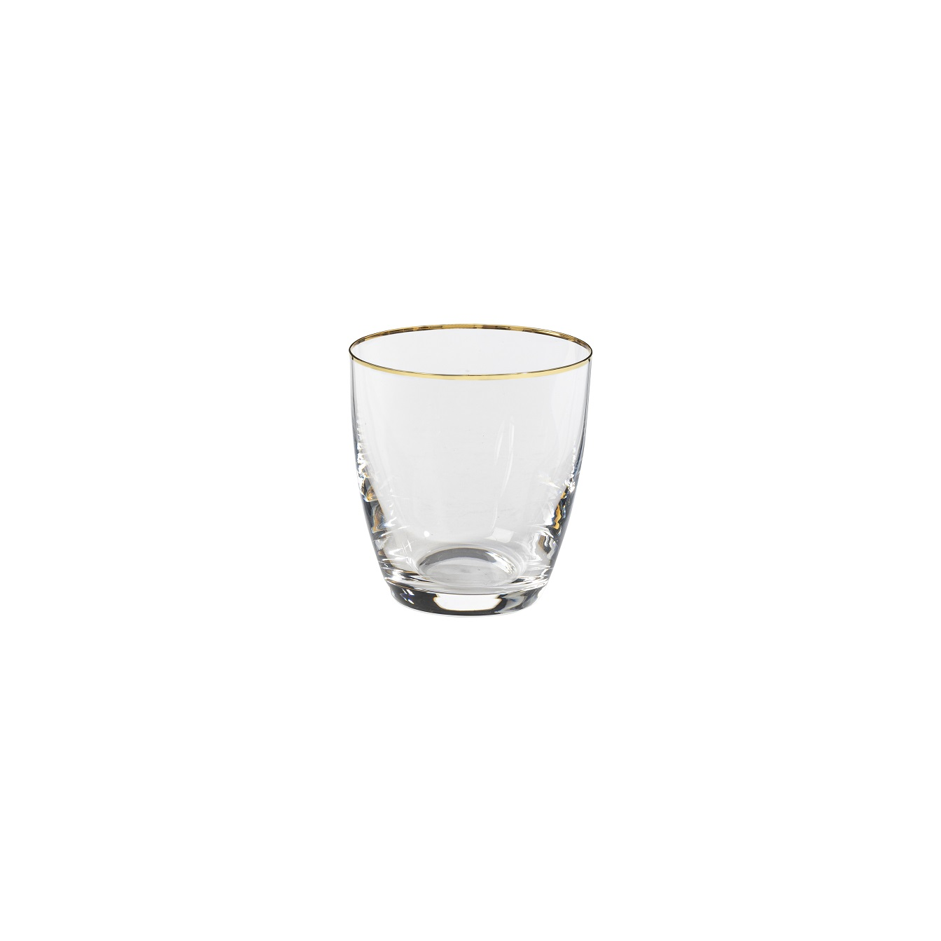 Sensa Tumbler 300ml Golden Rim Sparkle Gift